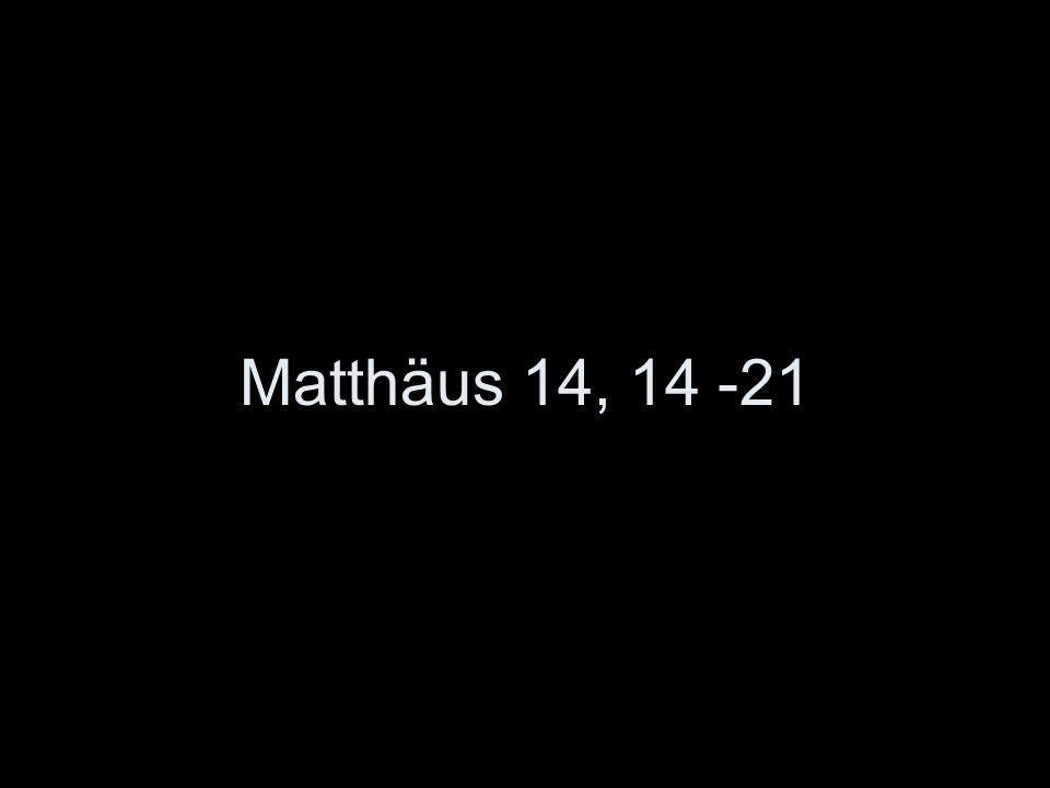 Matthäus 14, 14 -21