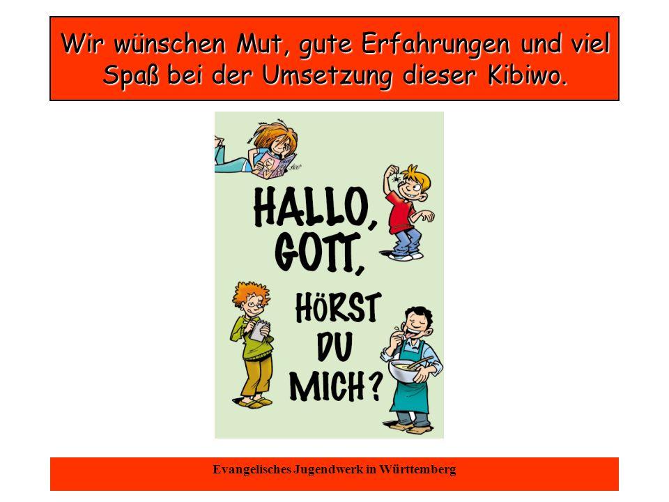 Oktober 2004Evangelisches Jugendwerk in Württemberg Teamwork ist nötig!