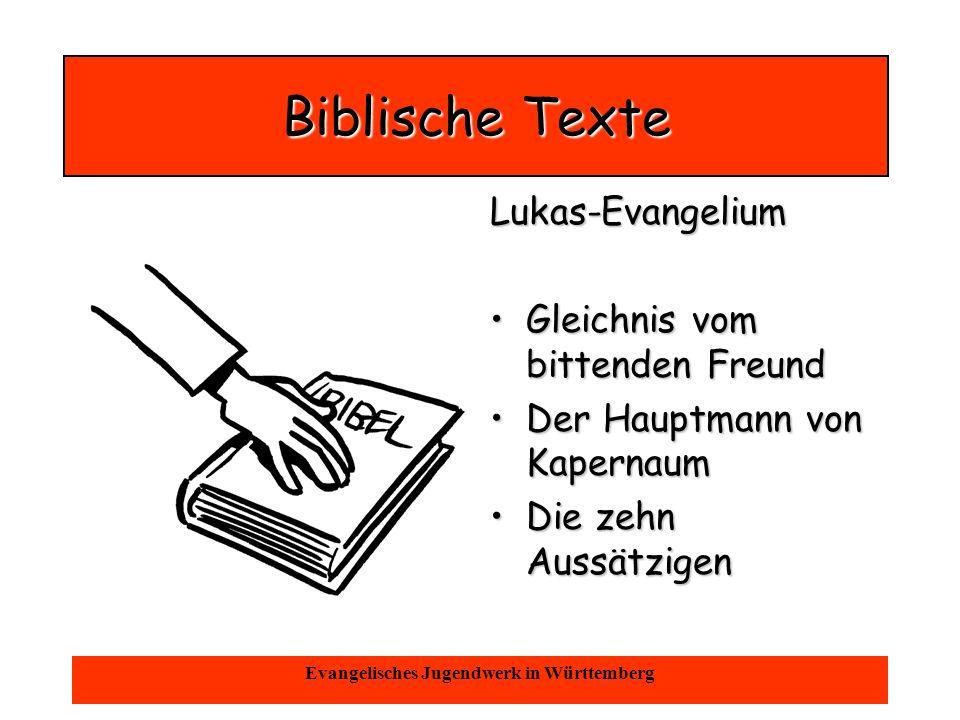 Oktober 2004Evangelisches Jugendwerk in Württemberg Anspiel - Bibeltheater Familienszene Familienszene 1 Biblisches Biblisches Stück Familienszene Familienszene 2