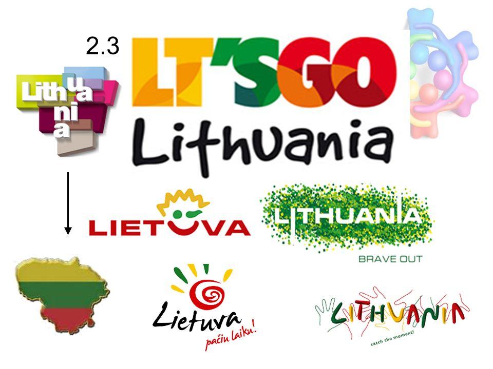 2.3 Umfrageergebnisse: Fazit ca. 35% Konzept ist zu abstarkt Dieser Brand ist wenig erkennbar Litauer sind selbstkritisch Litauen muss aktiver an sein