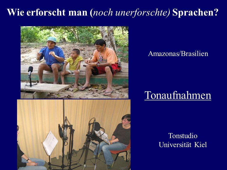 Dr. Cablitz diskutiert die geplante Sprachdokumentation auf den Tuamotuinseln in Französisch-Polynesien Wie erforscht man (noch unerforschte) Sprachen