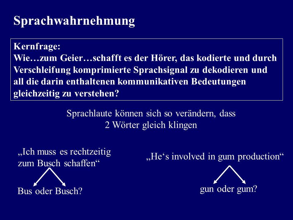 Sprechmelodie – Form und Funktion Gliederung des Gesprochenen: Schiller, Wilhelm Tell: Der brave Mann denkt an sich selbst zuletzt Der Meister der Gli