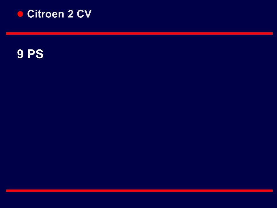 l Citroen 2 CV 9 PS