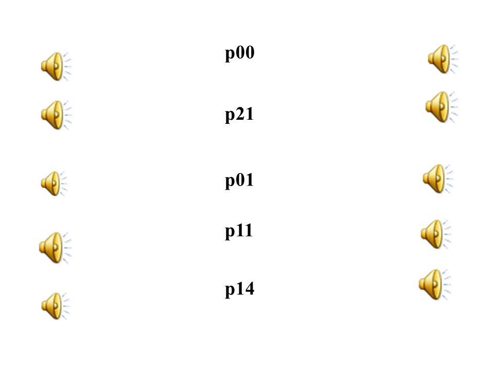 Neues Experiment – Experiment 2 Pitch p21, p01, p00, p11, p14 –nach den Ergebnissen des ersten Tests kann p22 durch keinen anderen Parameter zum Umkip