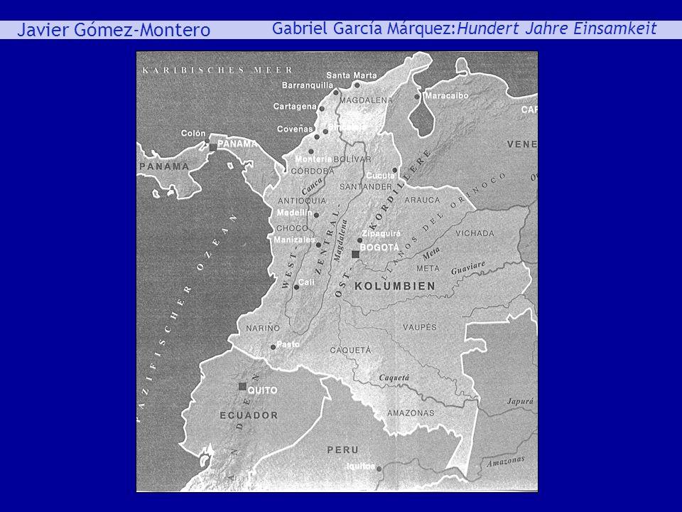 Javier Gómez-Montero ey Gabriel García Márquez:Hundert Jahre Einsamkeit