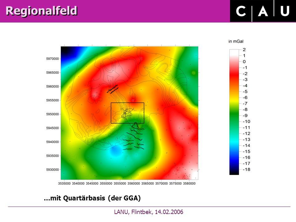 Regionalfeld LANU, Flintbek, 14.02.2006 …mit Quartärbasis (der GGA)