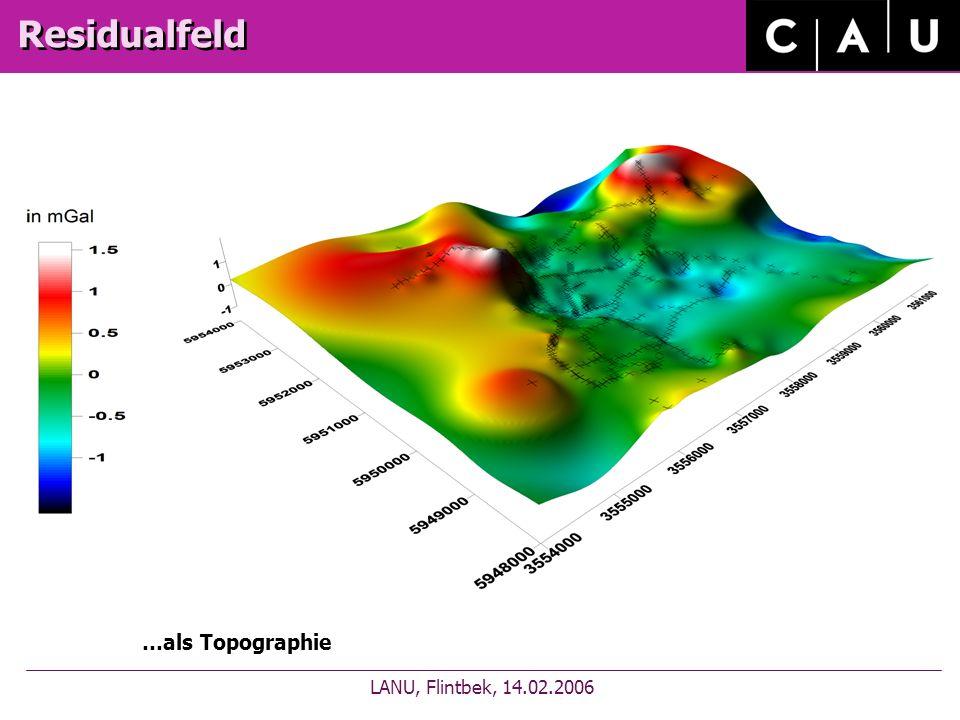 Residualfeld LANU, Flintbek, 14.02.2006 …als Topographie