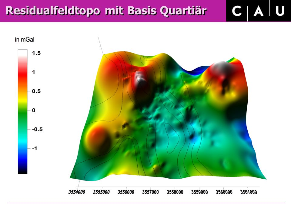 Residualfeldtopo mit Basis Quartiär