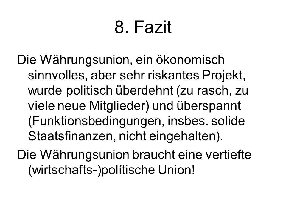 Literatur Zur aktuellen Eurokrise vgl.