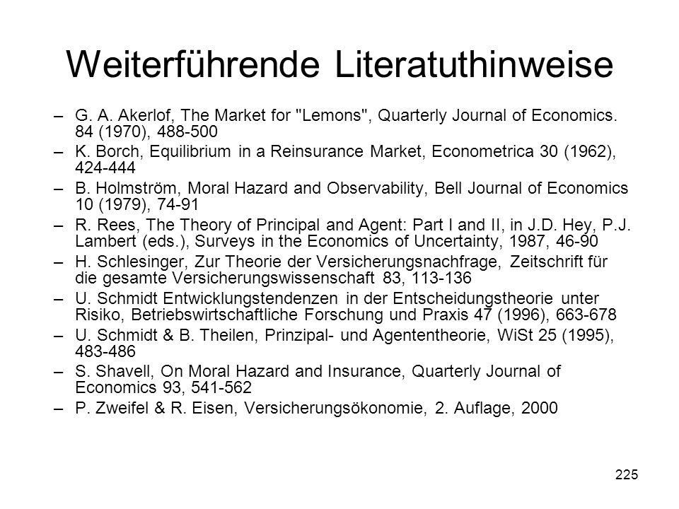 225 Weiterführende Literatuthinweise –G.A.