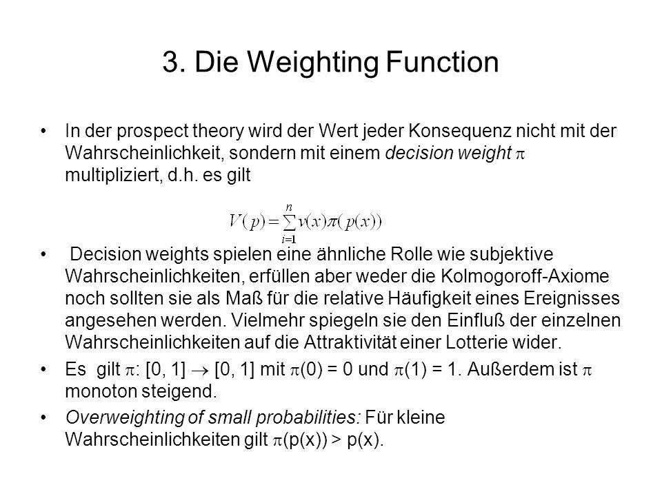 Subadditivity: Für kleine Wahrscheinlichkeiten und 0 r (p(x)).