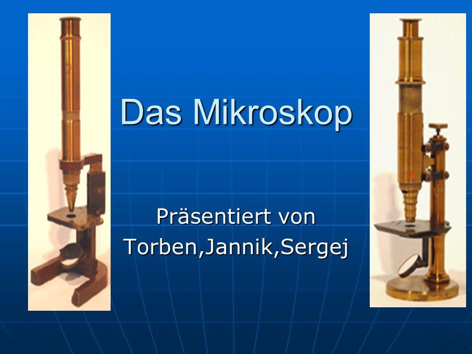 Funktion des Mikroskops Das Licht verläuft vom Gegenstand zum Objektiv, wo es gebrochen wird.