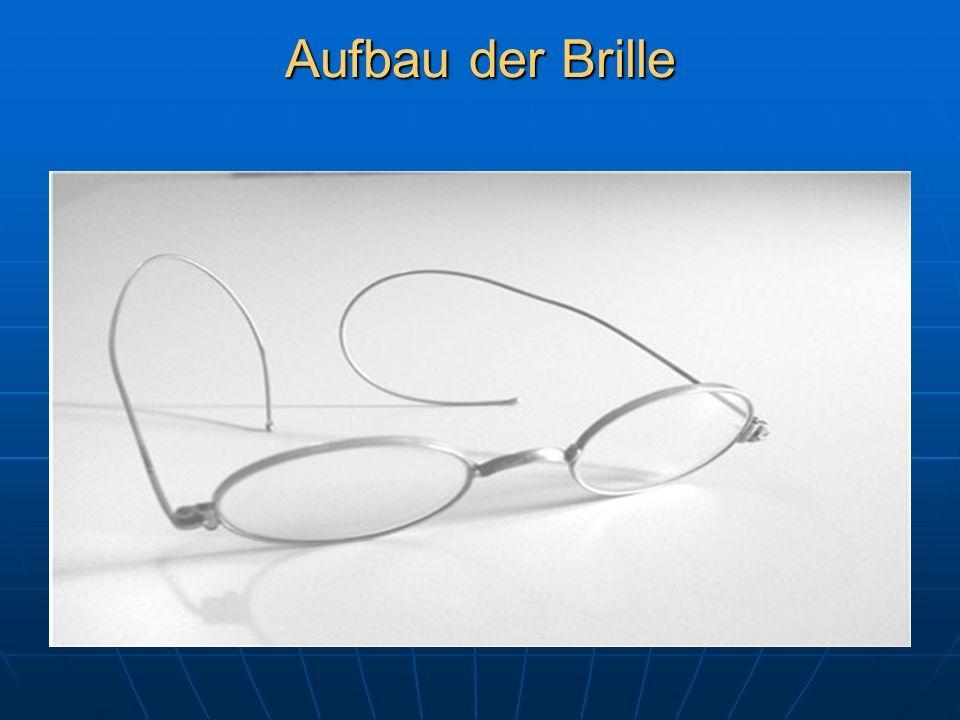 Aufbau der Brille