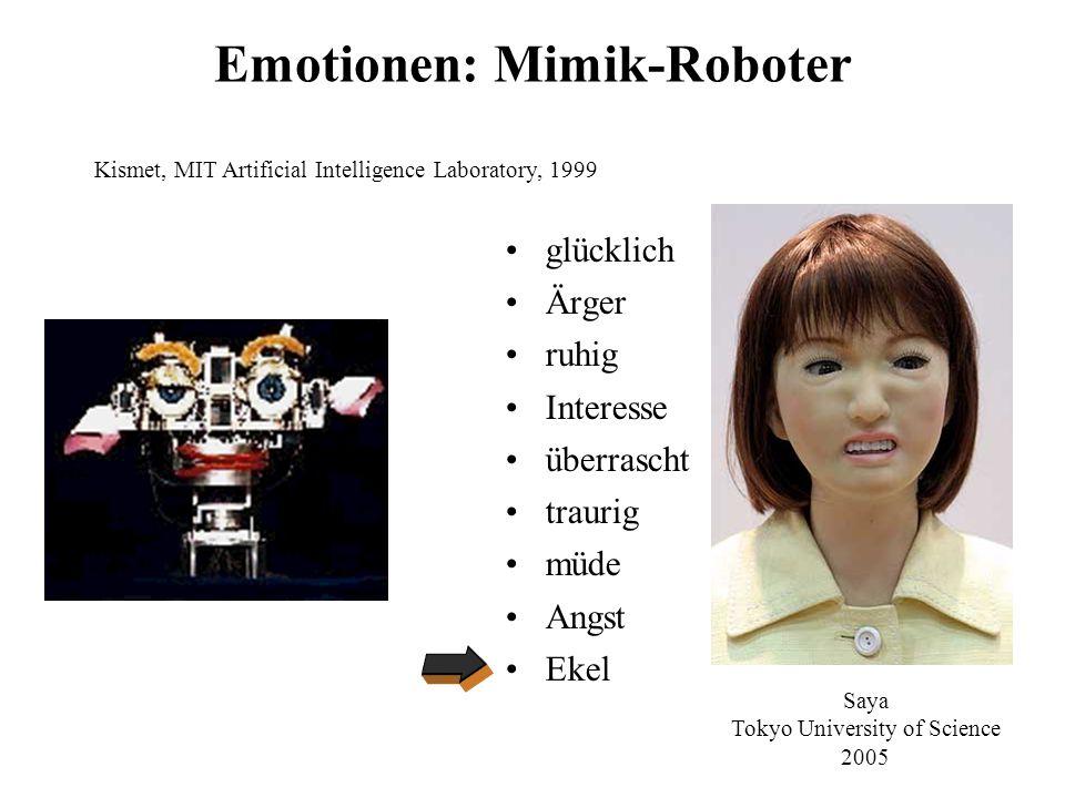 Geh-Roboter Asimo, Honda, 2000QRIO, Sony, 2003 Toyota, 2007