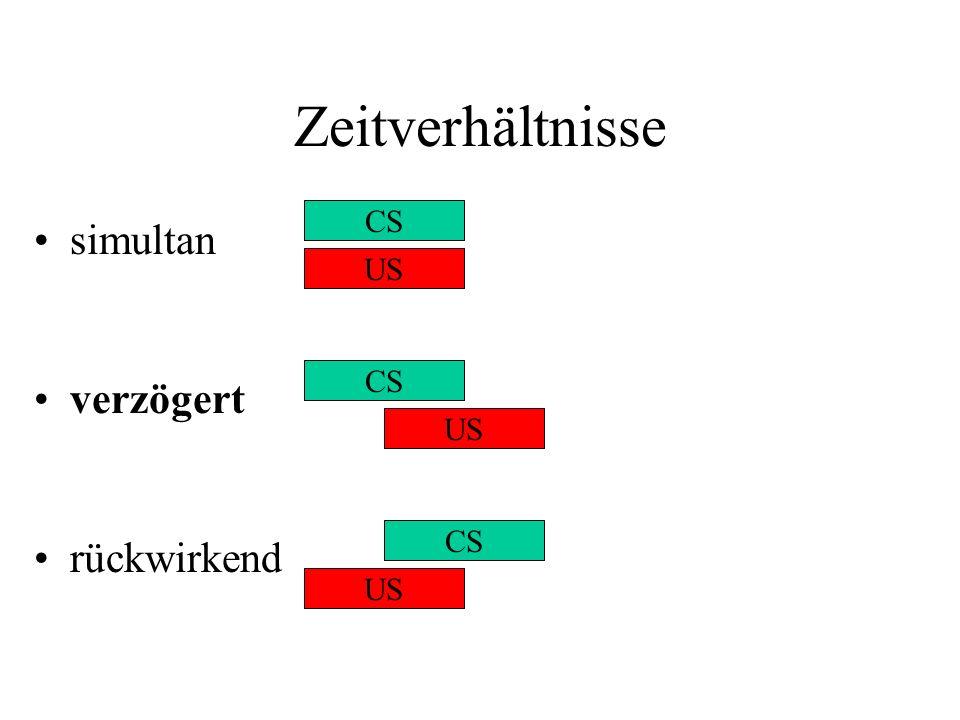 Instrumentelles Lernen: Was wird gelernt.Wasserman et al.