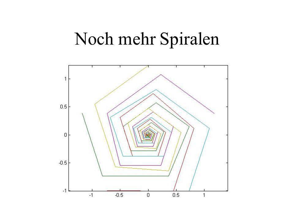 Noch mehr Spiralen