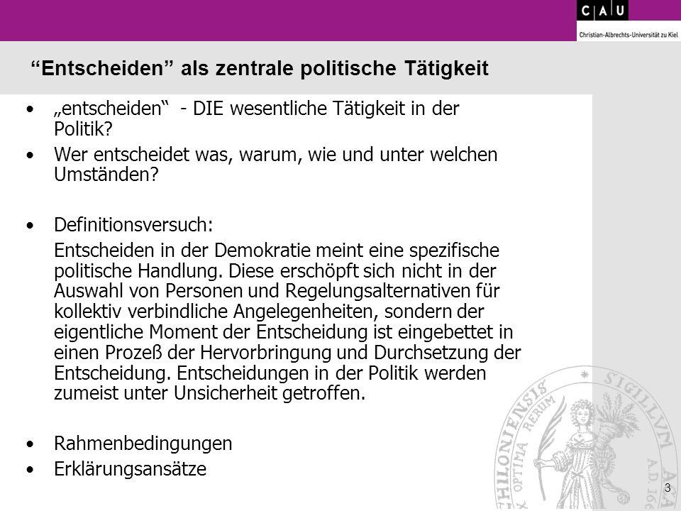 14 Akteurszentrierter Institutionalismus Fritz W.