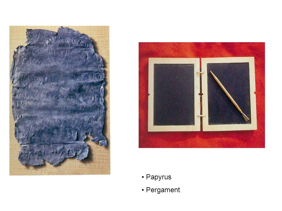 Papyrus Pergament