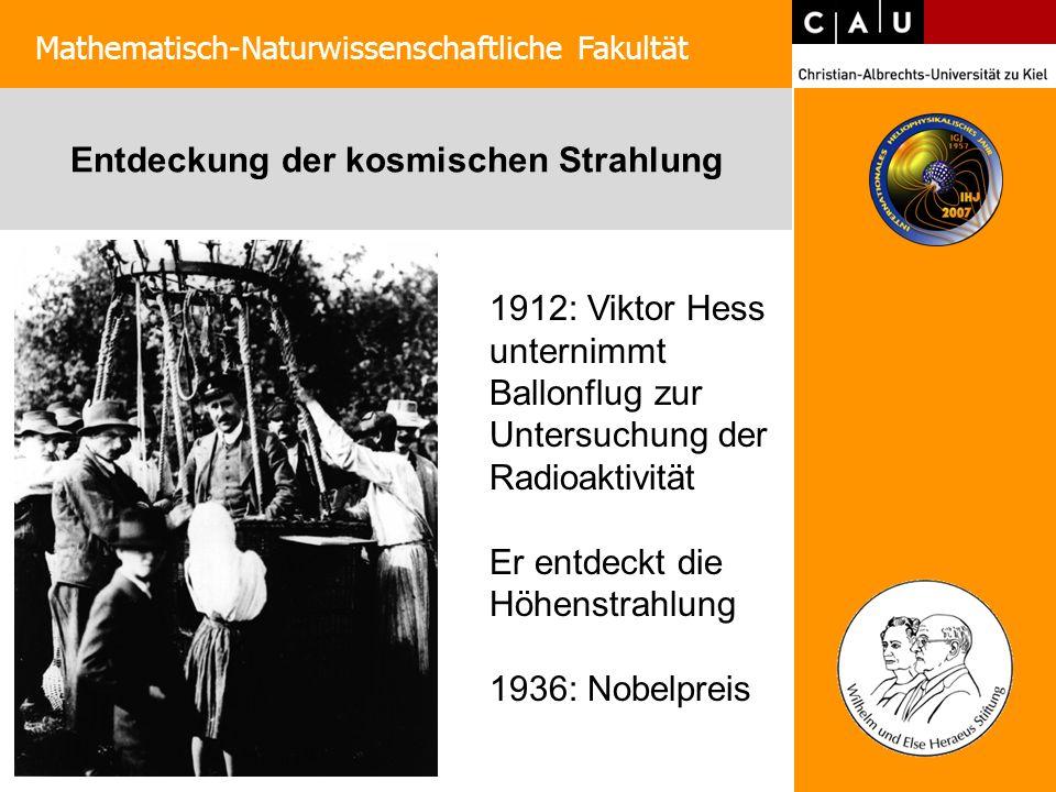 Die Sonne: Historie Mathematisch-Naturwissenschaftliche Fakultät Himmelskörper sind unveränderlich, struktorlos und ewig Die Sonne hat Flecken und rotiert Entdeckung der Sonnenaktivitätsperiode Heinrich Schwabe 1789 - 1875