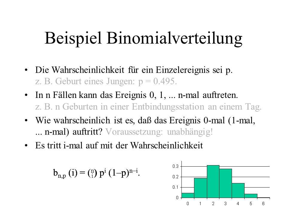 Überprüfen der Verteilung Wahrscheinlichkeit für Geburt eines Jungen: p = 0.495.