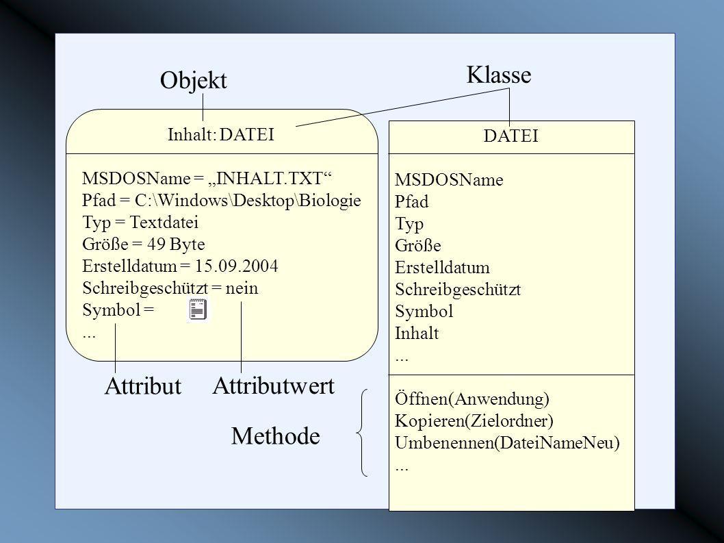 DATEI MSDOSName Pfad Typ Größe Erstelldatum Schreibgeschützt Symbol Inhalt... Öffnen(Anwendung) Kopieren(Zielordner) Umbenennen(DateiNameNeu)... Klass