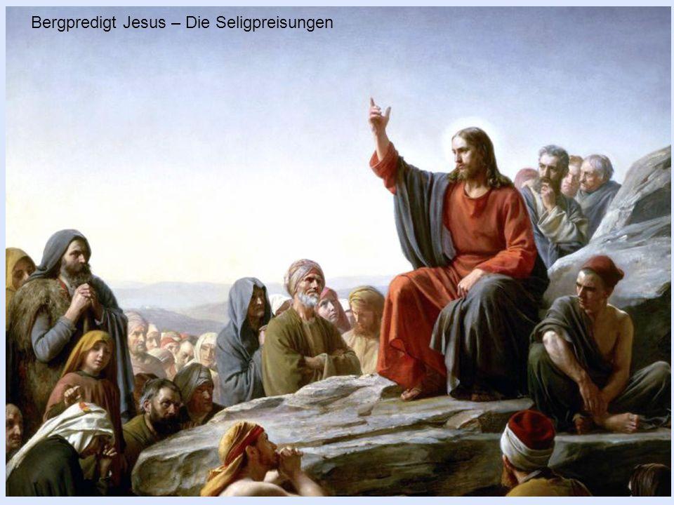 Glücklich sind alle, die gesund und hübsch sind, denn sie werden bewundert! Bergpredigt Jesus – Die Seligpreisungen
