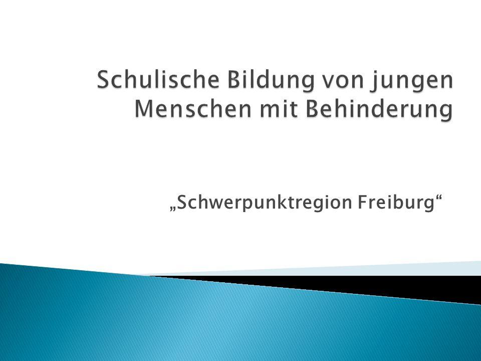 Schwerpunktregion Freiburg