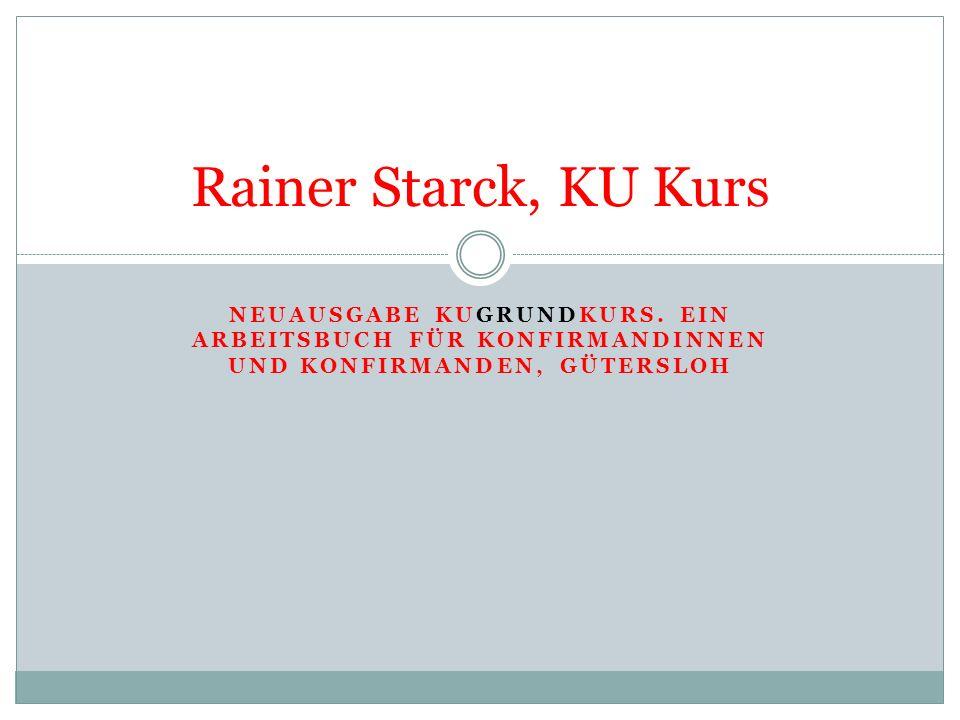 Starck, KU Kurs - Konzeption...