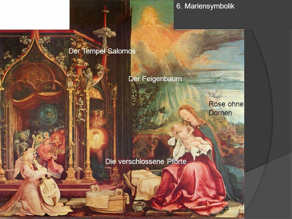 6. Mariensymbolik Der Feigenbaum Die verschlossene Pforte Rose ohne Dornen Der Tempel Salomos