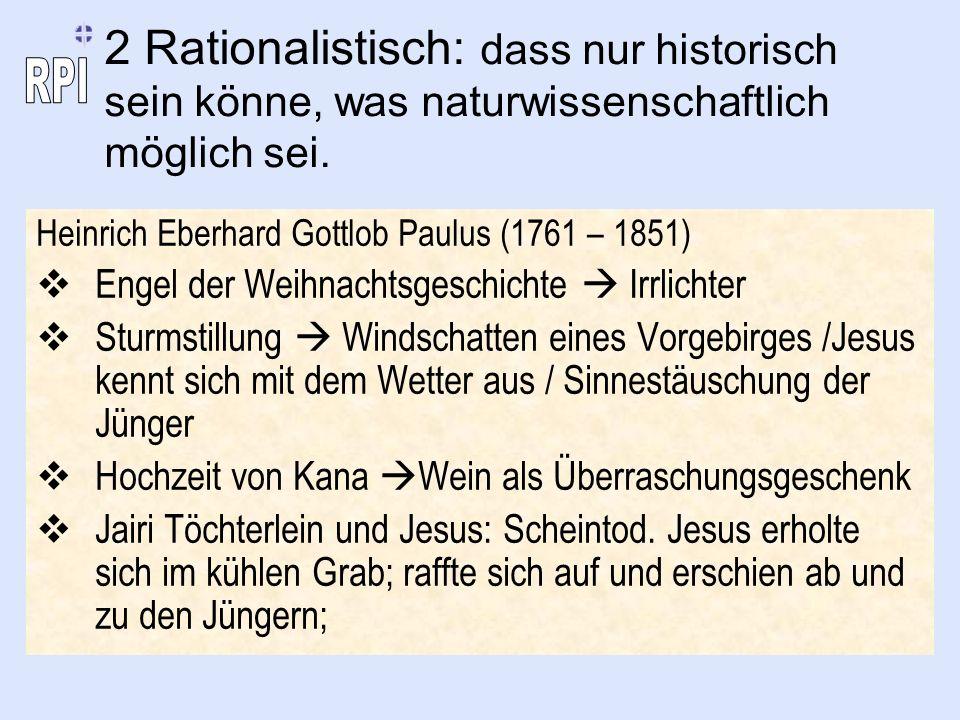Heinrich Eberhard Gottlob Paulus (1761 – 1851) Engel der Weihnachtsgeschichte Irrlichter Sturmstillung Windschatten eines Vorgebirges /Jesus kennt sic