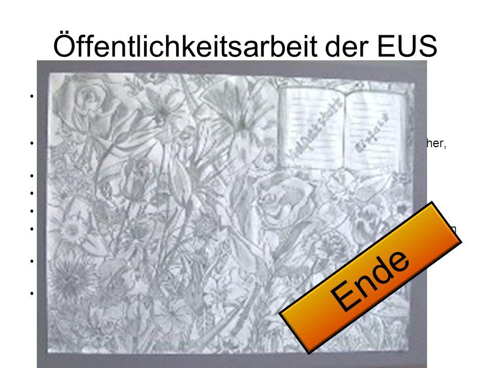 Öffentlichkeitsarbeit der EUS 2010 ist es mir erstmals gelungen, (Herr Döhnert) den Gesamtelternbeiratsvorsitzenden zu einem Informationsbesuch zu bew