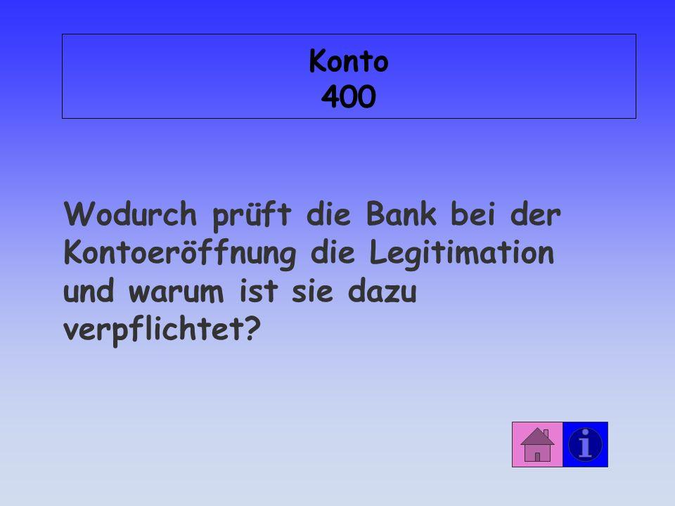 Konto 300 J O K E R ! !
