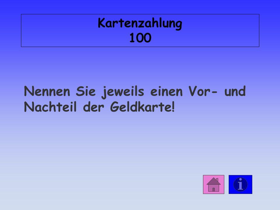 Antwort: Überweisung 500 Bank des ZP Bank des ZE ZPZE 1.