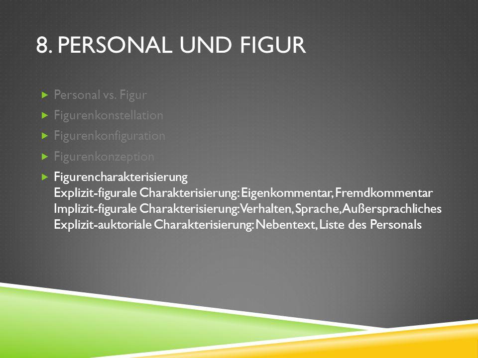 8.PERSONAL UND FIGUR Personal vs.