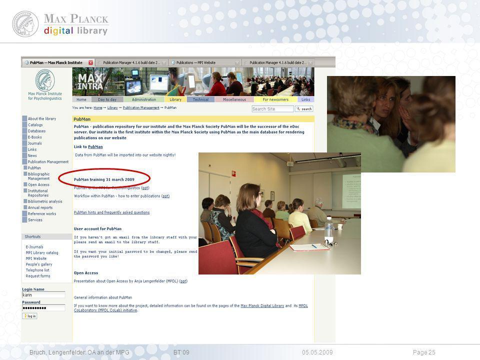 Bruch, Lengenfelder: OA an der MPGBT09 05.05.2009Page 24 OA Plakat für Bonner Wissenschaftsnacht 2008