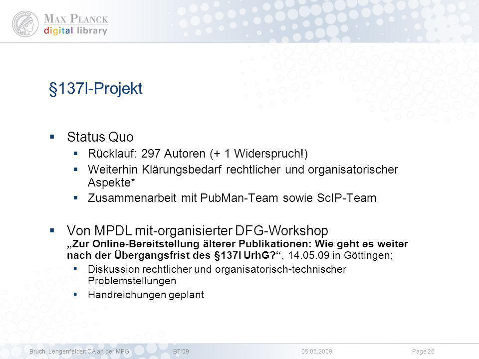 Bruch, Lengenfelder: OA an der MPGBT09 05.05.2009Page 25