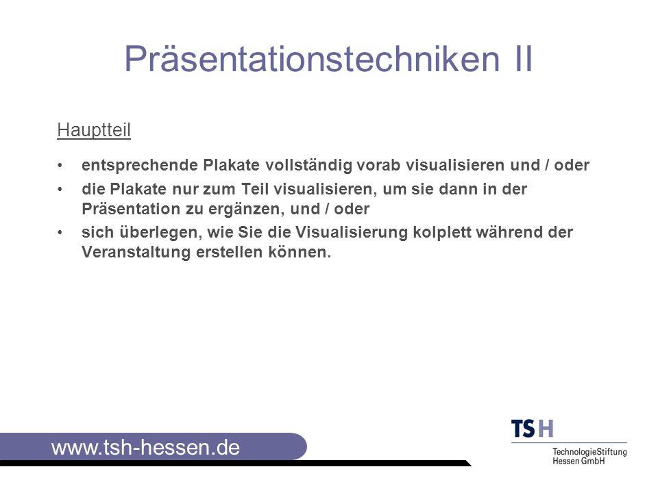 www.tsh-hessen.de ZieleInhalteMethode/Me dien Zeit