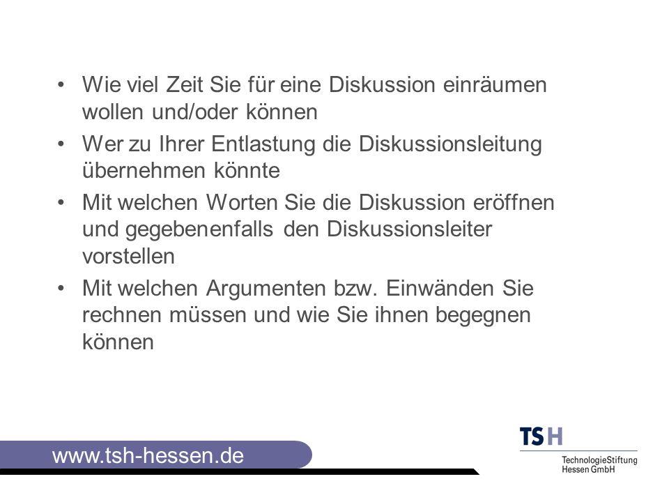 www.tsh-hessen.de Fahrplan für ein 3-Tage-Seminar (Bewerbungstraining) Wie bewerbe ich mich richtig ZieleInhalteMethode/M edien Zeit Einleitung 1.