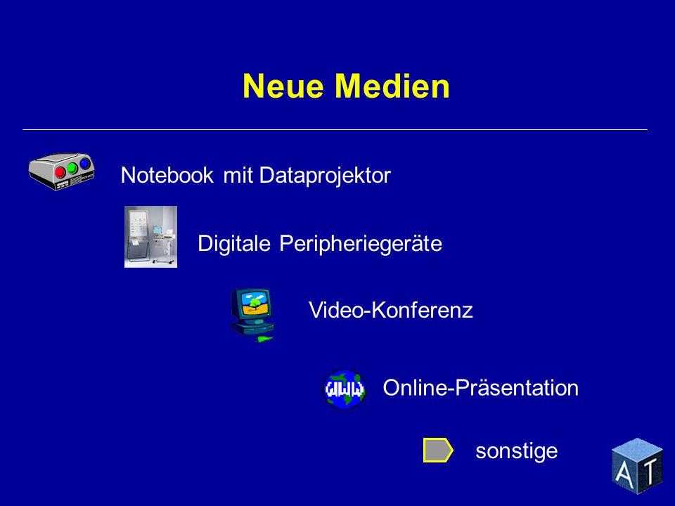 Neue Medien Notebook mit Dataprojektor Video-Konferenz Online-Präsentation sonstige Digitale Peripheriegeräte