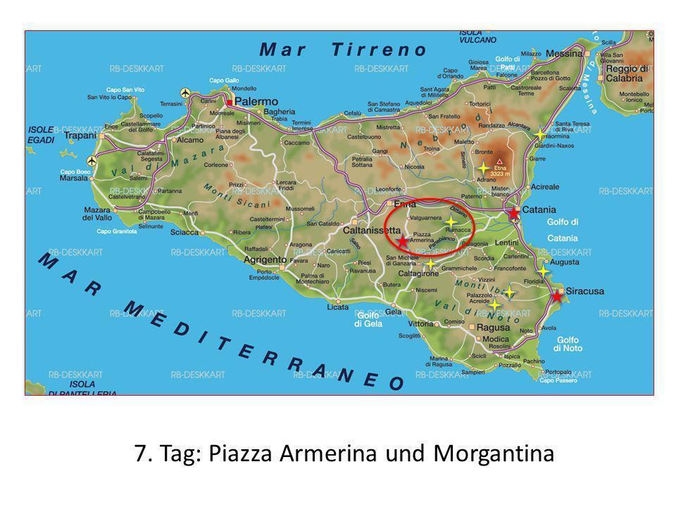 7. Tag: Piazza Armerina und Morgantina