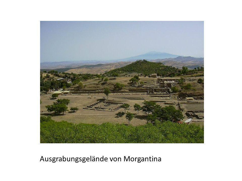 Ausgrabungsgelände von Morgantina
