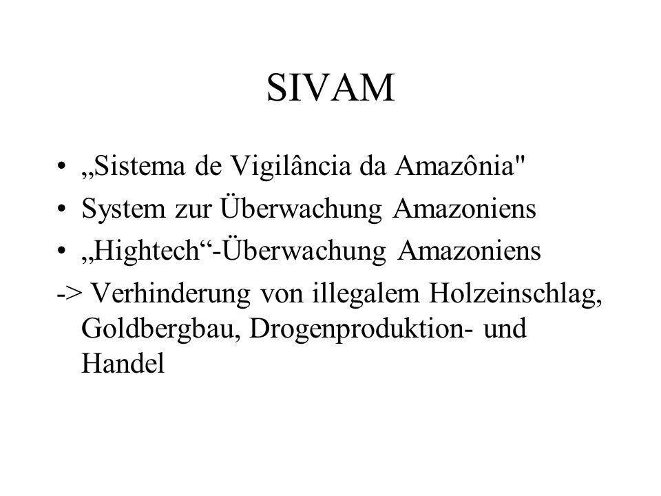 SIVAM Sistema de Vigilância da Amazônia