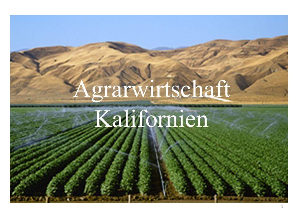 Agrarwirtschaft Kalifornien 1