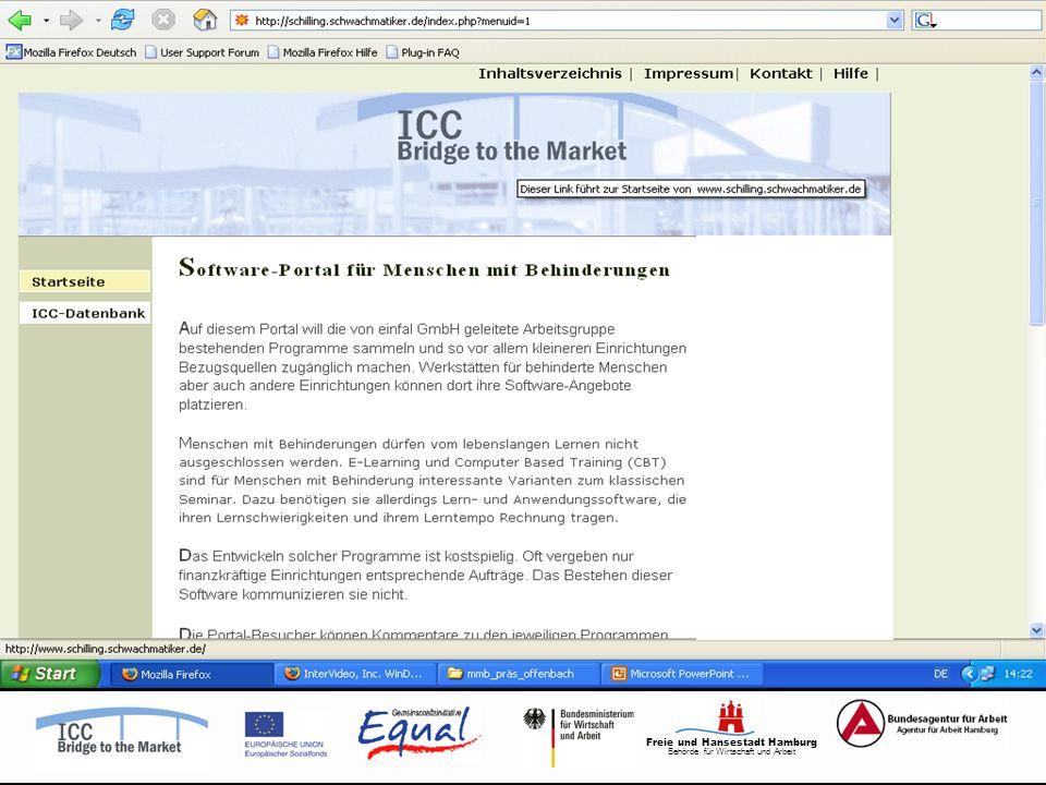 Freie und Hansestadt Hamburg Behörde für Wirtschaft und Arbeit
