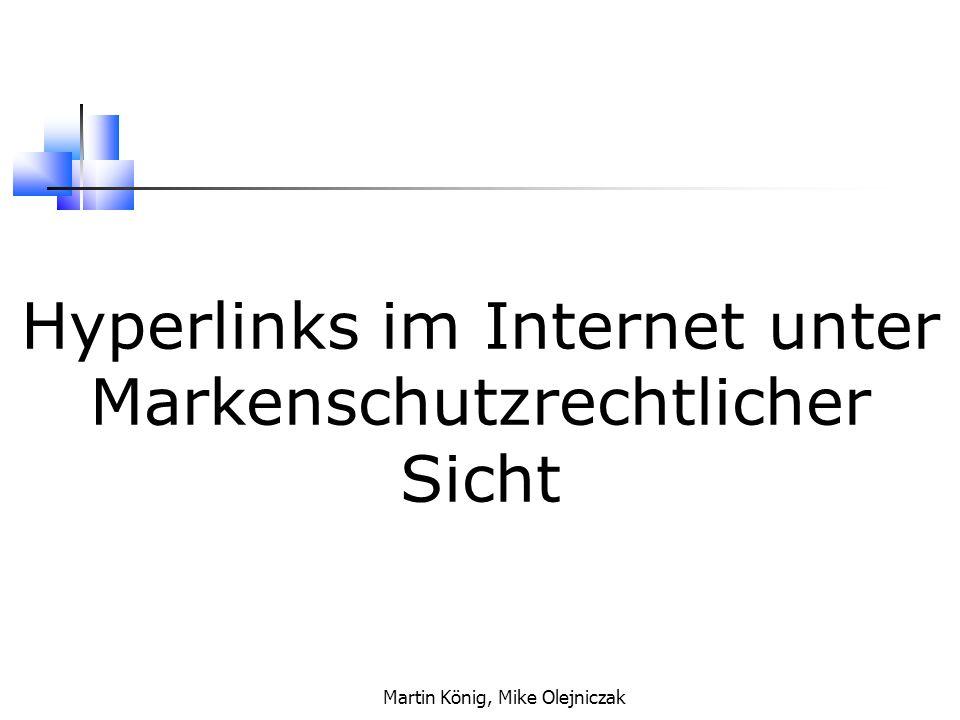 Martin König, Mike Olejniczak Was sind Marken.