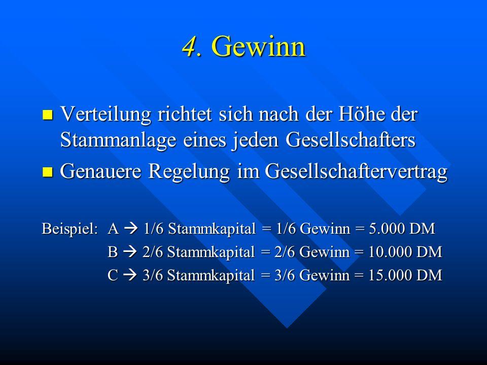 3.1. Zusammensetzung des Stammkapitals Das Stammkapital einer normalen GmbH kann aus: Das Stammkapital einer normalen GmbH kann aus: –Finanzkapital (