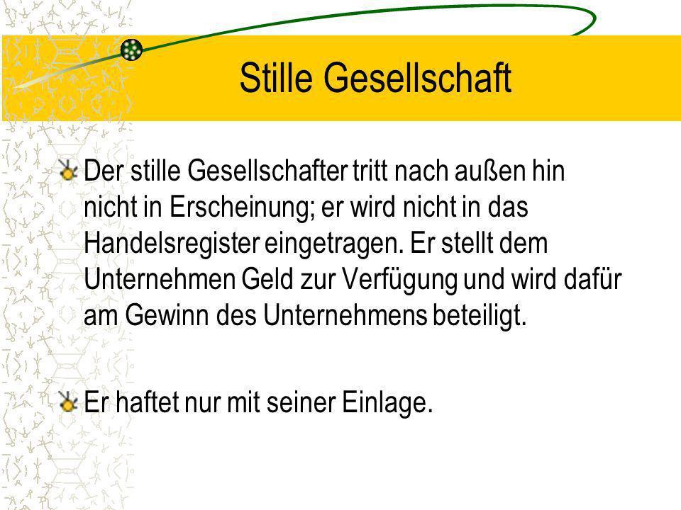 KG / GmbH & Co. KG