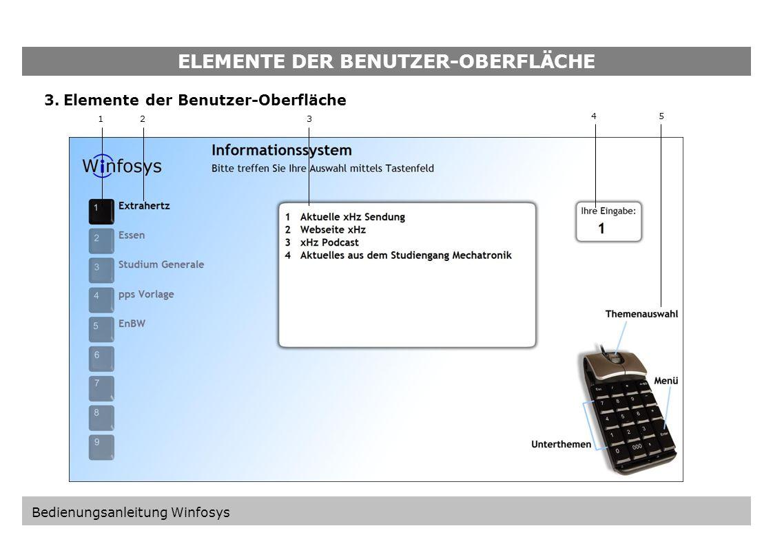 ELEMENTE DER KONFIGURATIONS-OBERFLÄCHE 19 20 21 22 Kontrollbox: Vorhandene Timer Auflistung aller gesetzten Timer mit Pfadangabe und Uhrzeit. Export /