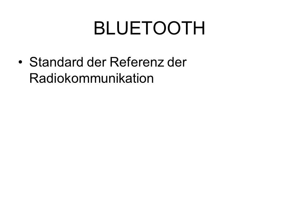 BLUETOOTH Standard der Referenz der Radiokommunikation