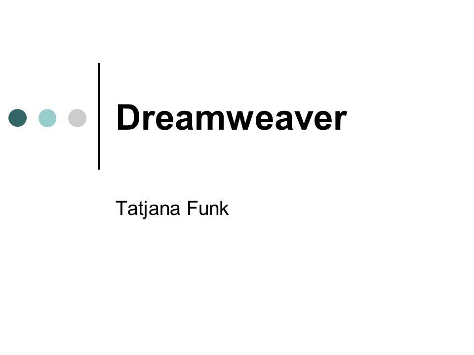 Dreamweaver Tatjana Funk